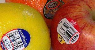 مقال – ماذا تعني الملصقات الصغيرة على الخضروات والفواكه؟